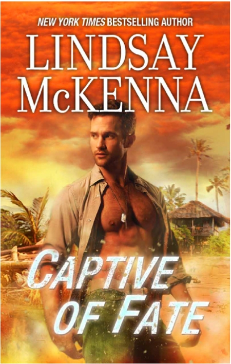 Captive of Fate by Lindsay McKenna is the FIRST military romance written for the Romance Industry.  She created this thriving sub-genre.