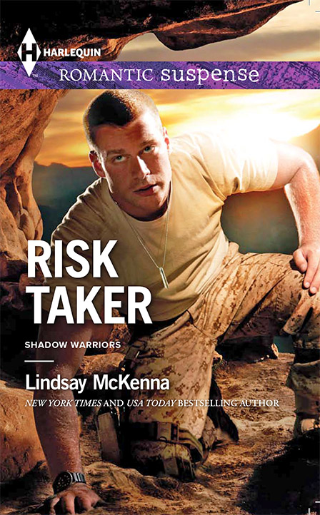 February, 2014, Harlequin Romantic Suspense by Lindsay McKenna.  This is book 1 of 2.  It is a sequel.  DEGREE OF RISK comes out March, 2014, Harlequin Romantic Suspense.  Don't miss these two books!