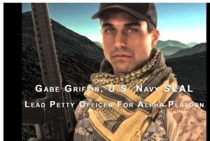 Petty Officer 1 Gabe Griffin, US Navy SEALs