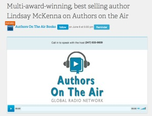 FB authors on the air logo