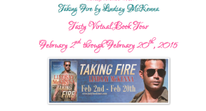Join us on TAKING FIRE's blog tour 2.2-20.2015!