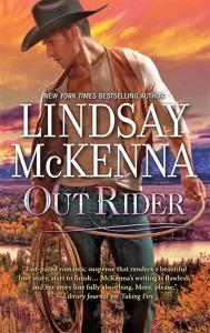 WIN an autographed copy of OUT RIDER by Lindsay McKenna!